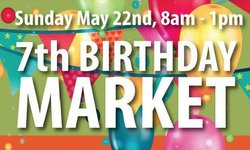 Happy 7th Birthday Mulgrave Market - May 22nd 2016